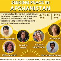 Seeking Pease in Afghanistan